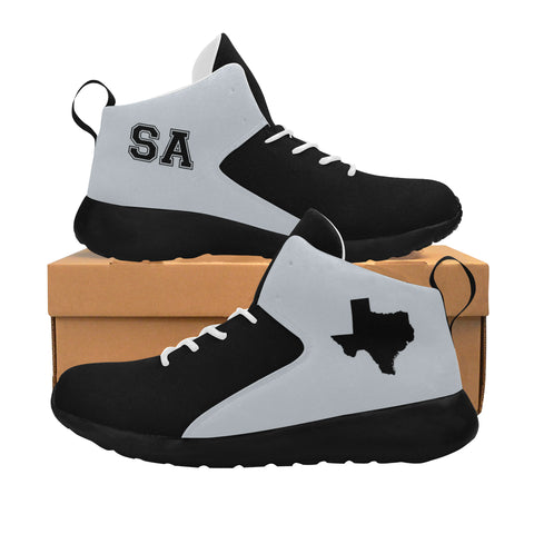 San Antonio Basketball Two-Tone Men's Basketball Shoes