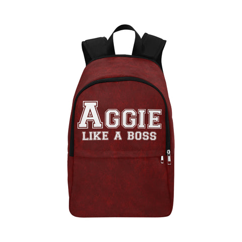 "College Station University ""Like a Boss"" Backpack - Maroon"