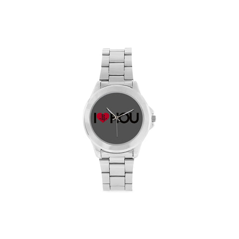 Houston Basketball Men's & Women's Unisex Stainless Steel Wristwatch