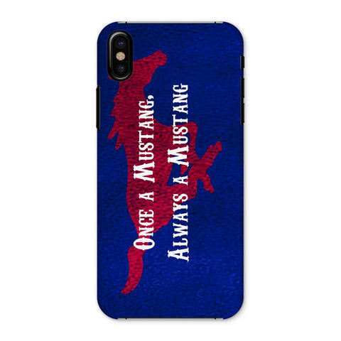 "Dallas University ""Once a Mustang, Always a Mustang"" Phone Case"