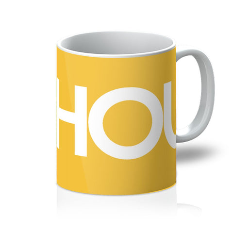 Houston Basketball I HEART HOU Mug