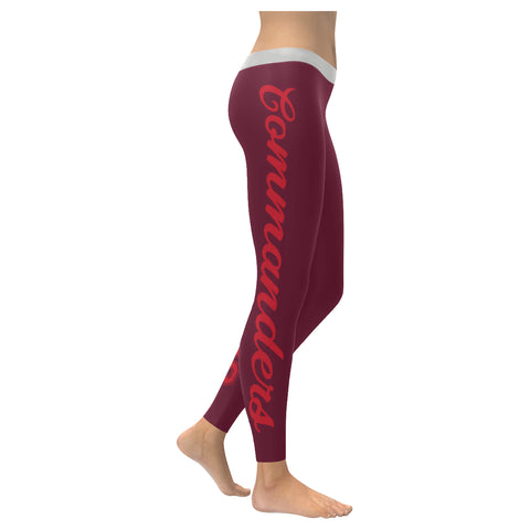 San Antonio Football All-Over Low Rise Leggings: 2XS - 5XL available