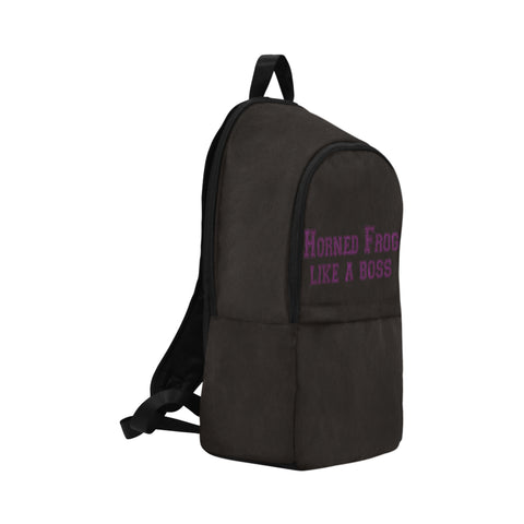 "Fort Worth University ""Like a Boss"" Backpack - Black"