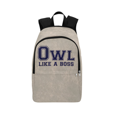 "Blue Houston University ""Like a Boss"" Backpack - Gray"