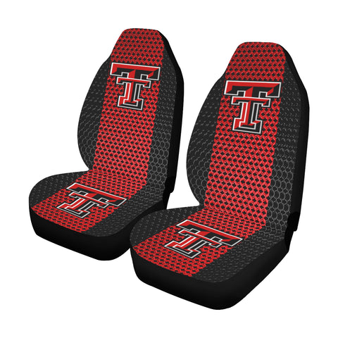 Lubbock University Chain Link Car Seat Covers (Set of 2)