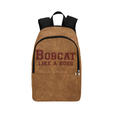 "San Marcos University ""Like a Boss"" Backpack - Gold"