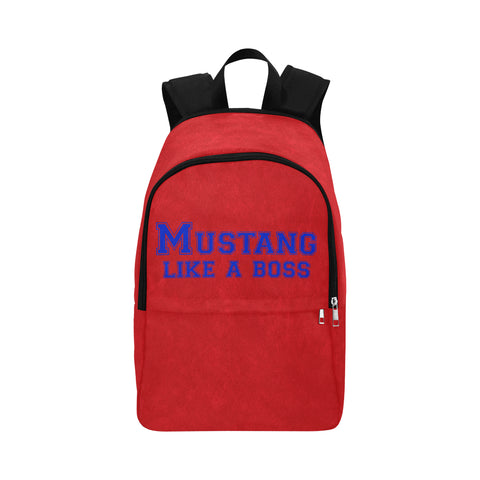 "Dallas Methodist University ""Like a Boss"" Backpack - Red"