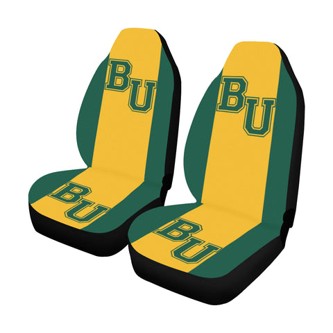 Waco University Solid Colors Car Seat Covers (Set of 2)