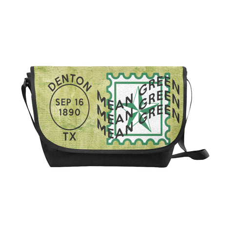Denton University Postmark Nylon Cross-Body Messenger Bag (black or brown)