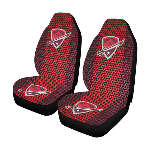San Antonio Football Chain Link Car Seat Covers (Set of 2)