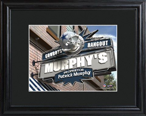 Customizable NFL Pub Print - Dallas Cowboys