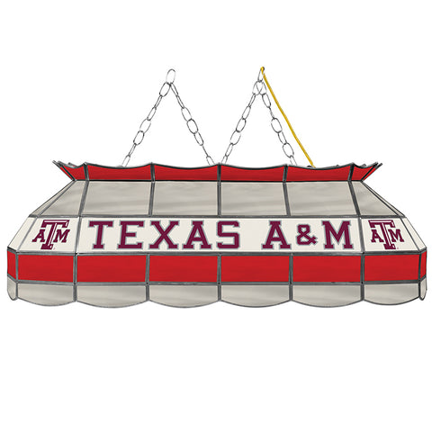 "NBA/NCAA/NHL Handmade Stained Glass 40"" Lamp (Mavericks, Rockets, Spurs, Stars, Texas A&M)"