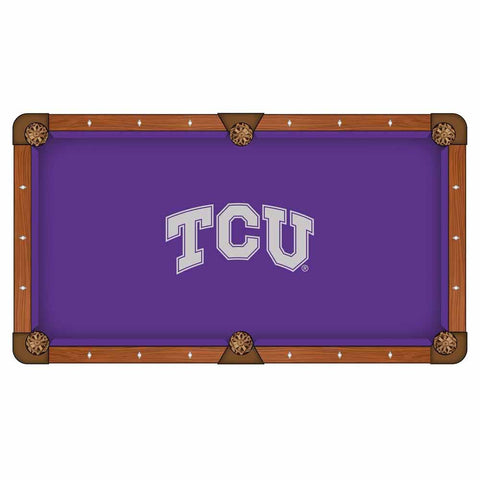 TCU Horned Frogs Pool Table Cloth by HBS