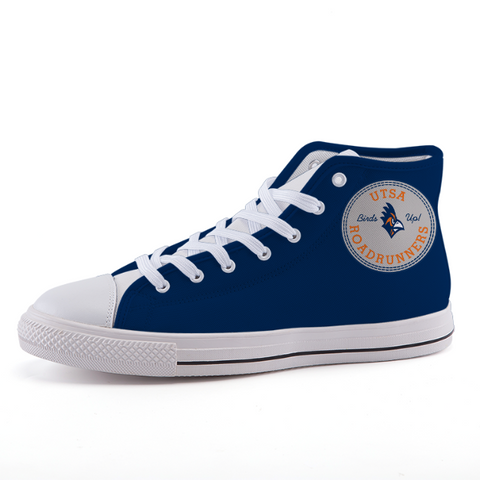 UTSA Roadrunners: High-top fashion canvas shoes