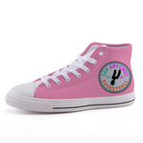 San Antonio Basketball high-top fashion canvas shoes
