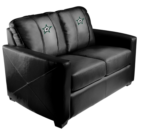 Texas Pro & Collegiate Teams' Silver Love Seat (A&M, Astros, Baylor, Mavs, Rangers, Spurs, Stars)