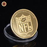 Dallas Cowboys: 24k Gold Plated Commemorative Coin with Acrylic Box