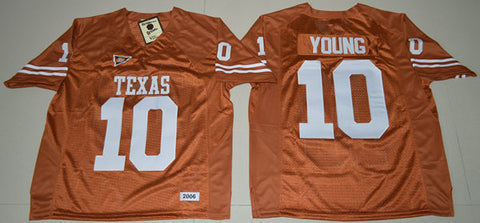 Texas Longhorns: Jerseys for Buechele, Young. Campbell, & Williams