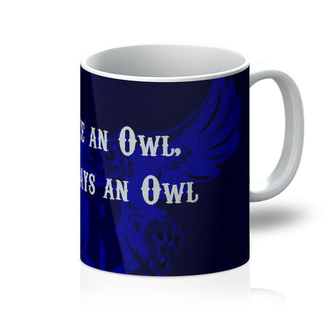 "Blue Houston University ""Once an Owl, Always an Owl"" Mug"