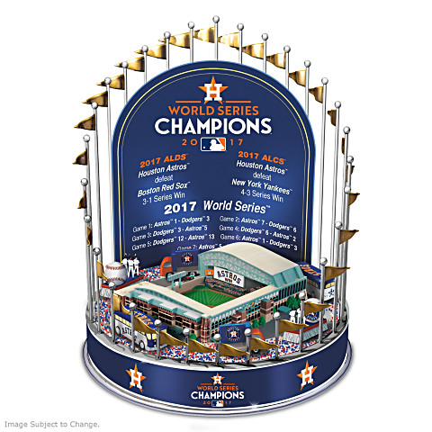 Houston Astros 2017 World Series Champions Lighted Musical Carousel