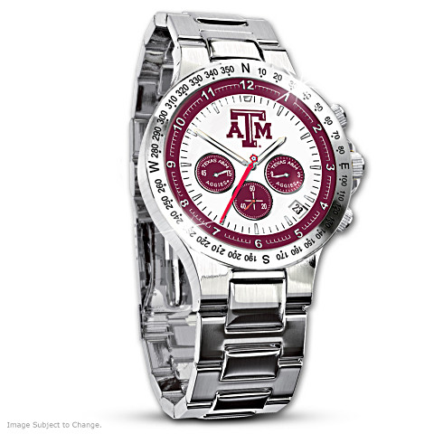 Texas A&M Aggies Commemorative Chronograph Watch