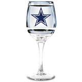 Dallas Cowboys Wine Glass Collection - Two Issues of Two Glasses Each