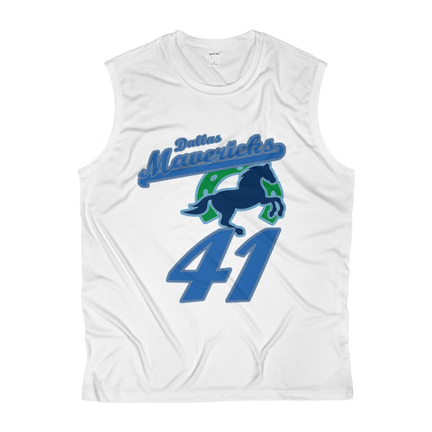 Dallas Basketball #41 Jersey Men's Sleeveless Performance Tee