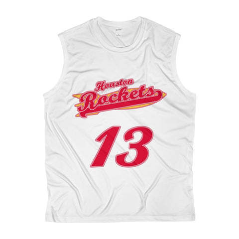 Houston Basketball #13 Jersey Men's Sleeveless Performance Tee