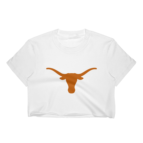 Texas Longhorns: Women's Bevo Crop Top