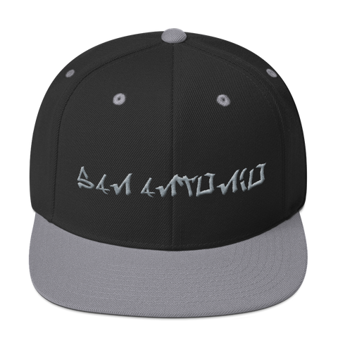 San Antonio Basketball Silver & Black Tagged Snapback Hat