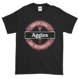 Texas A&M Aggies: Men's Lager Label-Inspired Short-Sleeve T-Shirt; up to 5XL