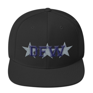 Dallas Football Varsity Snapback Hat
