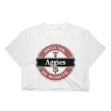 College Station University Lager-Inspired Women's Crop Top