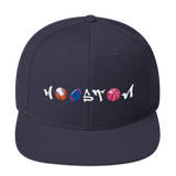 City of Houston Ball Teams Graffiti Snapback Hat