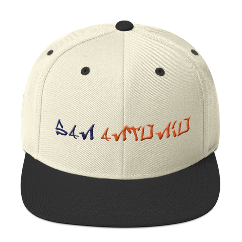 San Antonio University Graffiti Snapback Hat