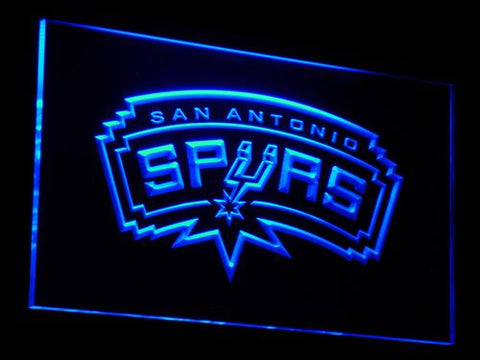 San Antonio Spurs: Bar LED Neon Sign with On/Off Switch; 20+ Colors and 5 Sizes to choose