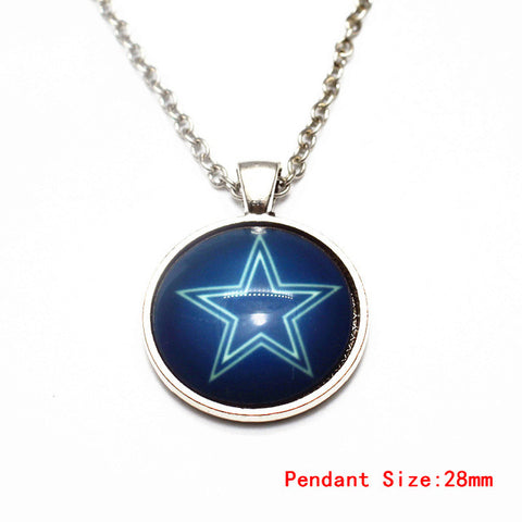 "Dallas Cowboys: Women's 20"" Necklace Chain with Pendant"
