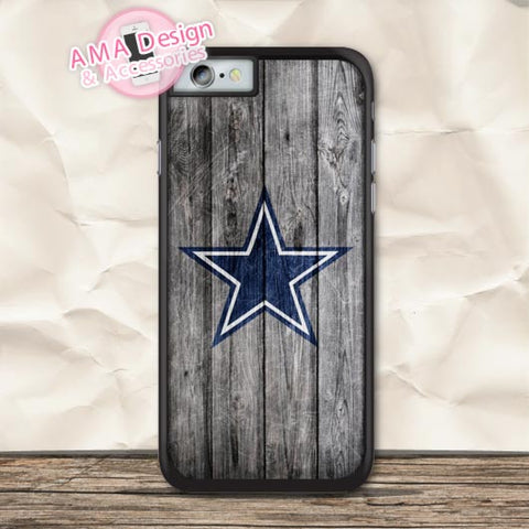 Dallas Cowboys: Wood Panel Print Case For iPhone OR iPod Touch