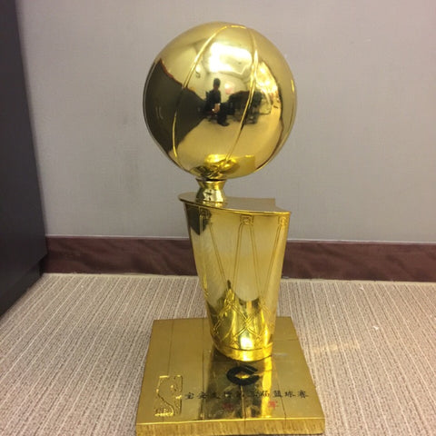 Small Replica Larry O'Brien NBA Championship Trophy - Customized Engraving available