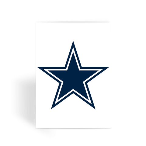 Dallas Cowboys: Greeting Card