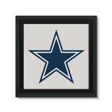 Dallas Cowboys: Framed Eco-Canvas