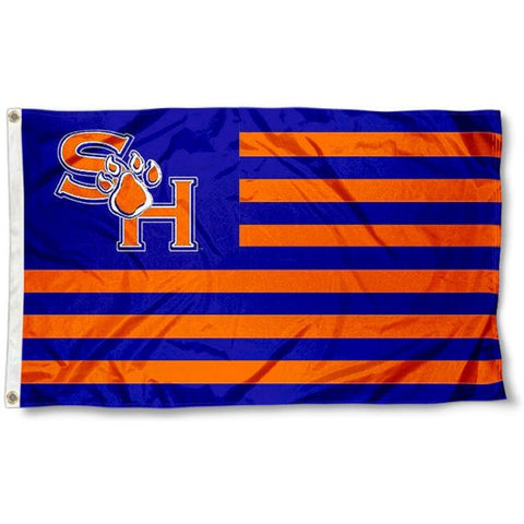 Sam Houston State Bearkats 3' x 5' Kats and Stripes American Flag