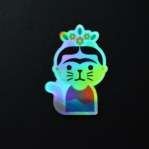 Frida Gahto - Holographic Sticker