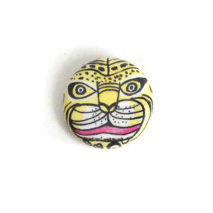 "Tiger Mask - 1"" Round Button"