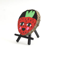 Strawberry - Wood Slice