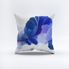 Throw Pillow Blooming Lapis