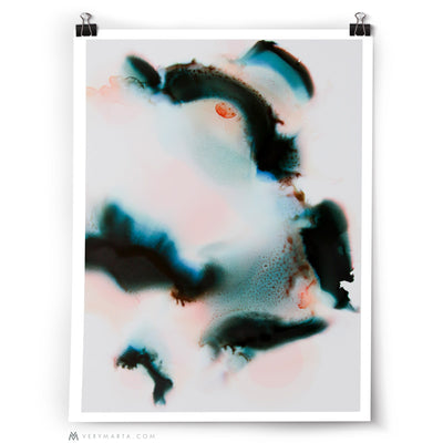 Abstract Art Print: Uplands 4