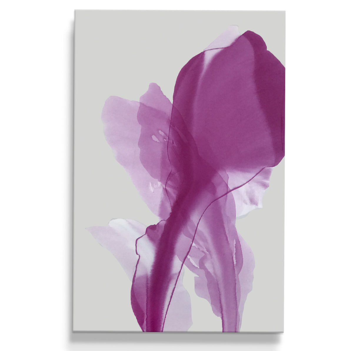 abstract art floral Marta Spendowska bloomlands original fine art Abstract Painting: Smitten by flower' blushing / 36x24""