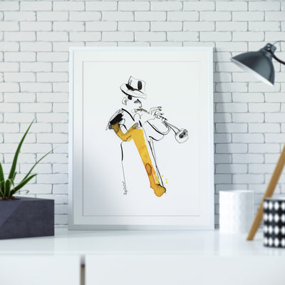 Art Print | Giclee Print | Striped