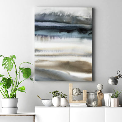 Art Print | Giclee Print | Navy Wave